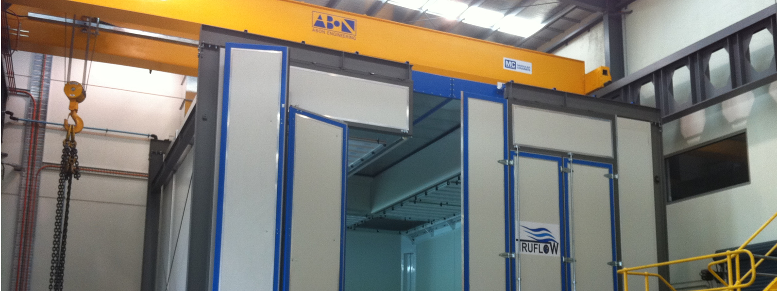 FLSSmidth Abon engineering Spraybooth