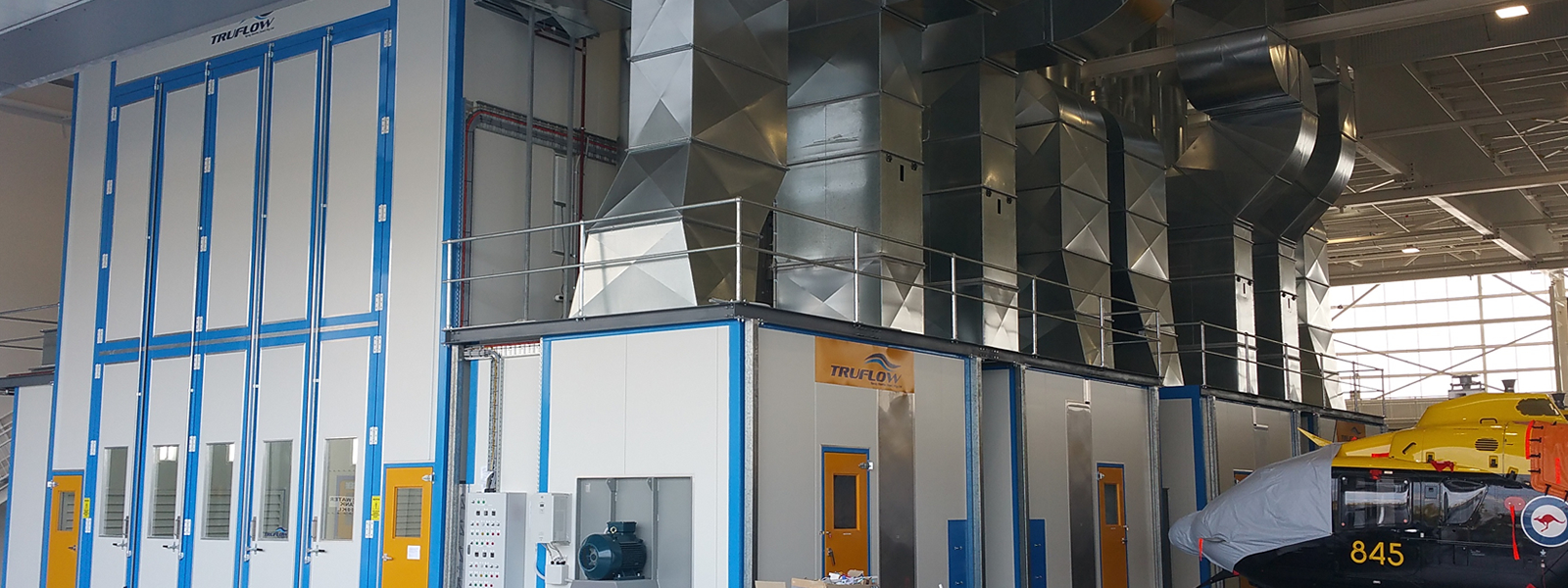 Helicopter Spray Booth facility