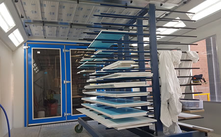 Beautiful Cabinet Shop Spray Booth