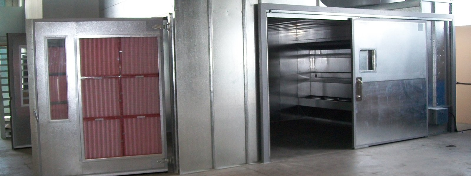 Modular Spray Booth System