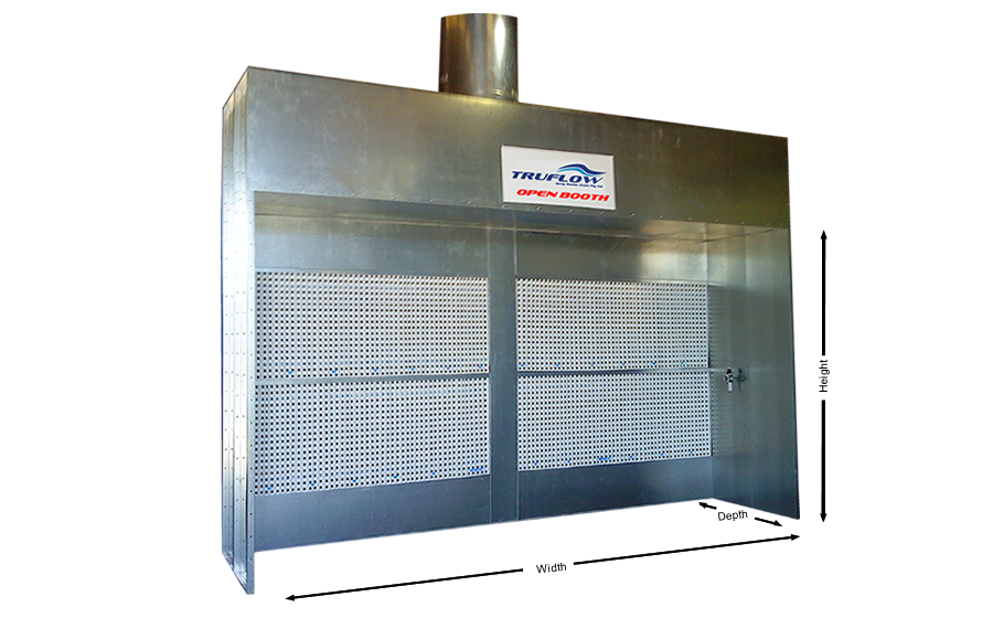 Rooms: TruFlow » Industrial Dry Filter Spray Painting Booths
