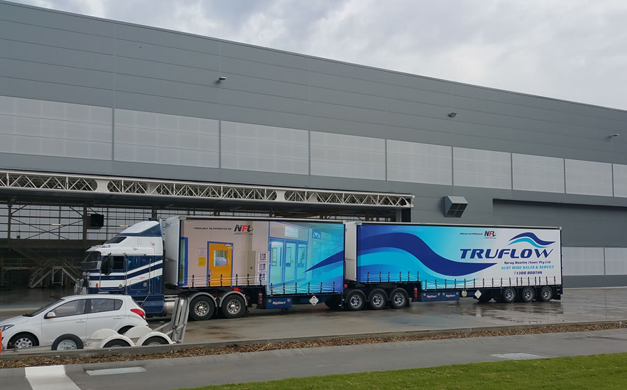 The TRUFLOW Delivery Truck