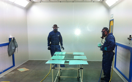 Aviation Spray Booth