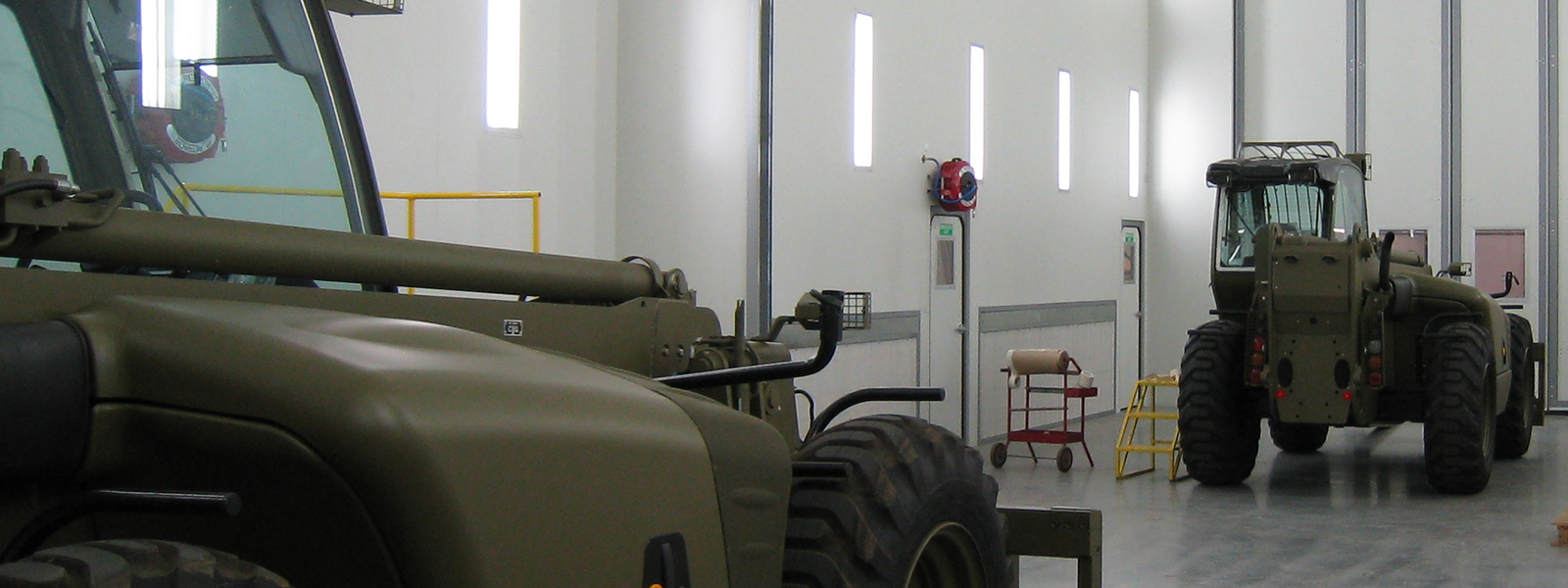 Defence Application Spray Booth
