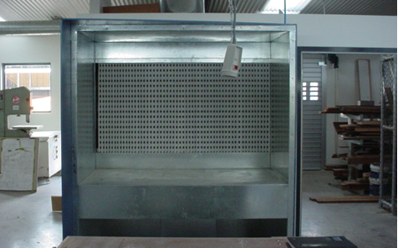 TruFlow » Bench Type Spraybooth | Small Parts Spray Booth