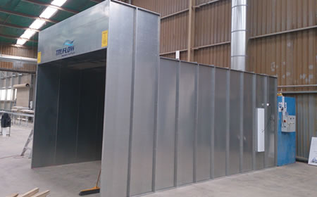 Portable Paint Booth >> TruFlow » Paint Preparation and Paint Stripping Facilities | Aviation & Commercial Preparation ...