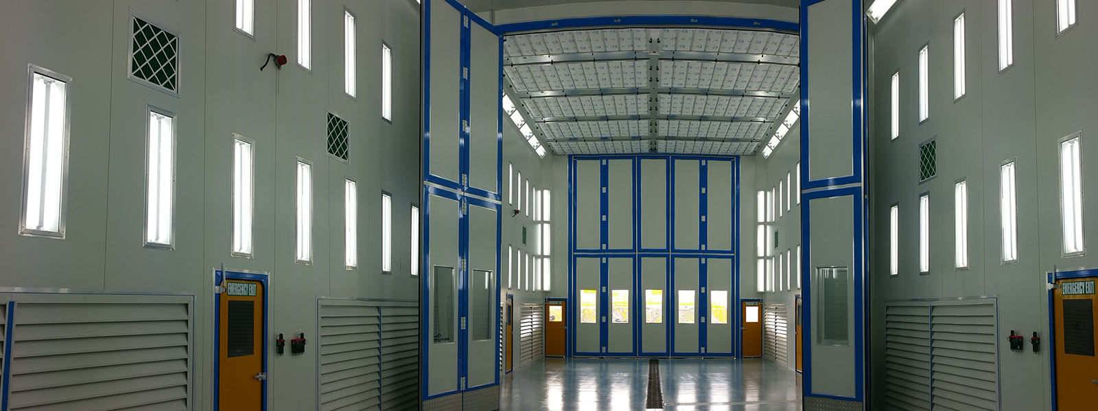 Sikorsky Facility Spray Booth Internal