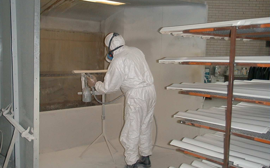 Open Face Water Filter Spraybooths