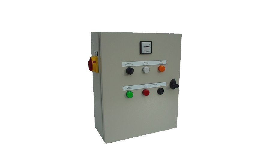 Control Board for Dry Booth
