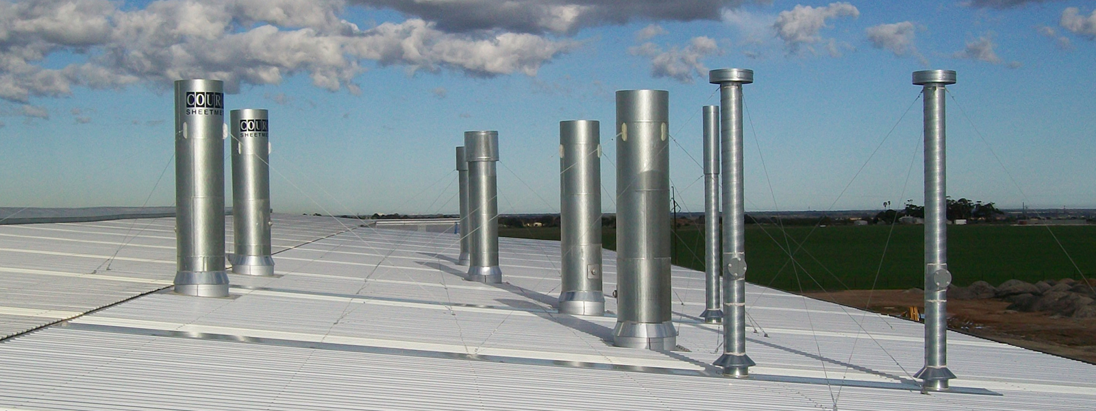 Ductwork and Sheetmetal for spraybooths